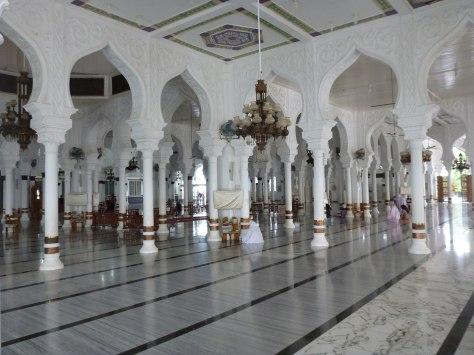 Inside baitul rahman
