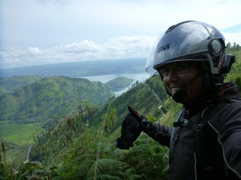 View into Lake toba.