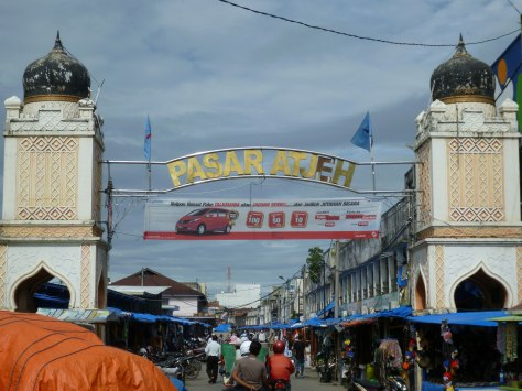 Pasar aceh.. the market place