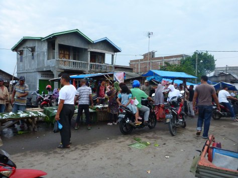 ride through market