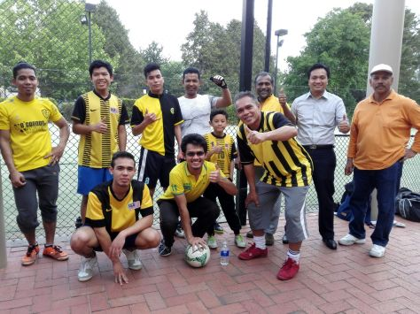CANBERRA HIGH COMMISSION FOOTBALL TEAM